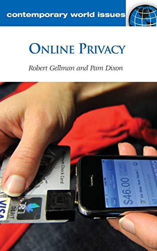 9781598846492: Online Privacy: A Reference Handbook (Contemporary World Issues)
