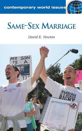 9781598847079: Same-Sex Marriage: A Reference Handbook (Contemporary World Issues)