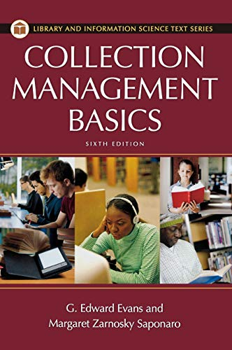 9781598848632: Collection Management Basics, 6th Edition (Library and Information Science Text)