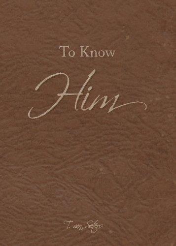 To Know Him: T. Van Seters