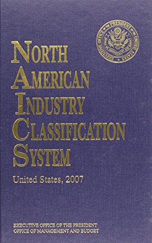 North American Industry Classification System 2007 (North: Federal Government