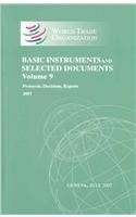 9781598881912: WTO Basic Instruments & Selected Documents (WTO BISD): (Protocols, Decisions, Reports 2003) (Wto Basic Instruments and Selected Documents Supplement) (Volume 9)