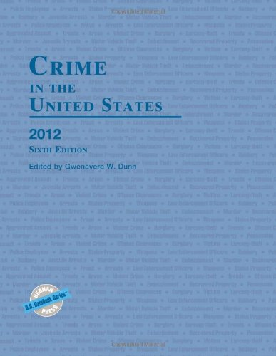 9781598885217: Crime in the United States 2012