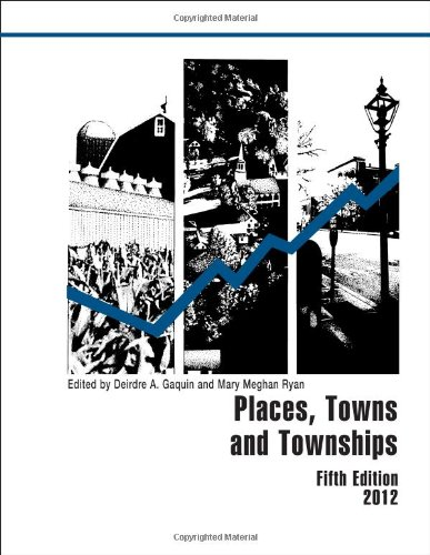 9781598885323: Places, Towns and Townships 2012 (County and City Extra Series)