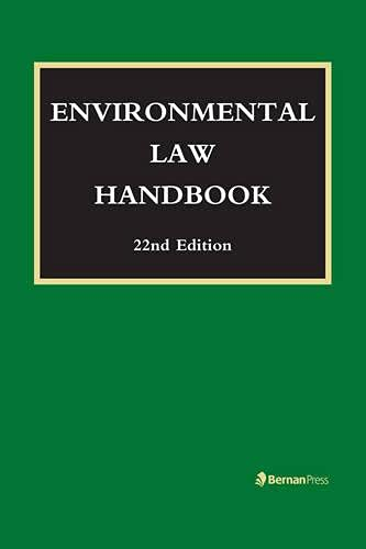 Environmental Law Handbook: Bell, Christopher L.;