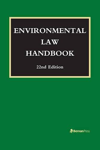 9781598886672: Environmental Law Handbook