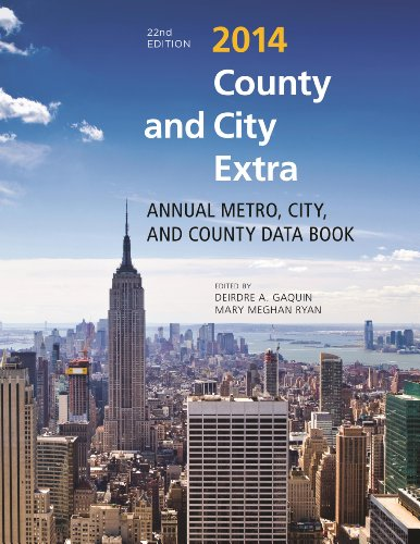 9781598887198: County and City Extra 2014: Annual Metro, City, and County Data Book (County and City Extra Series)