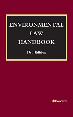 Environmental Law Handbook: Christopher Bell, F.