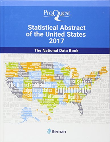 9781598888751: ProQuest Statistical Abstract of the United States 2017: The National Data Book