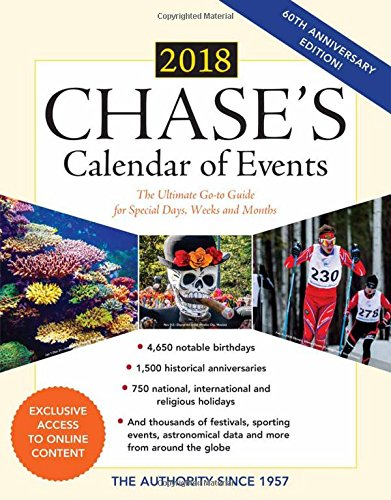 Monthly Calendar Of Events Special Days To Celebrate : Chase s calendar of events the ultimate go to guide