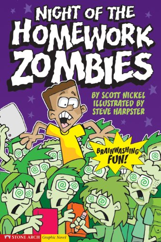 9781598890358: Night of the Homework Zombies (School Zombies)
