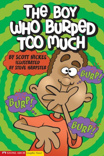 9781598890372: The Boy Who Burped Too Much (Graphic Sparks)