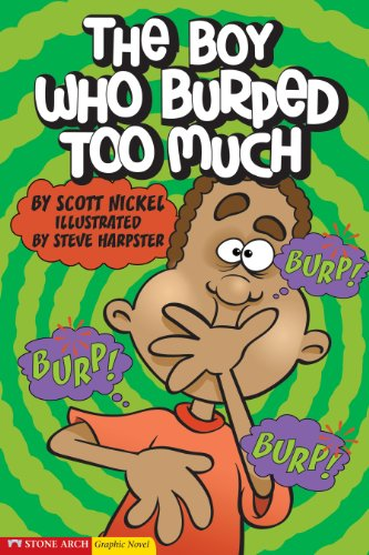 9781598891683: The Boy Who Burped Too Much (Graphic Sparks)