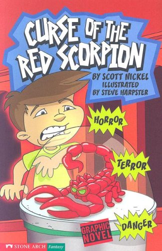 9781598891690: Curse of the Red Scorpion (Graphic Sparks)