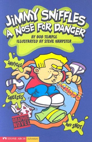 9781598891713: A Nose for Danger: Jimmy Sniffles (Graphic Sparks)