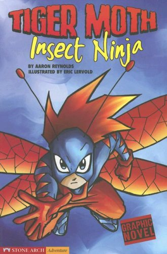 9781598892284: Insect Ninja: Tiger Moth (Graphic Sparks)