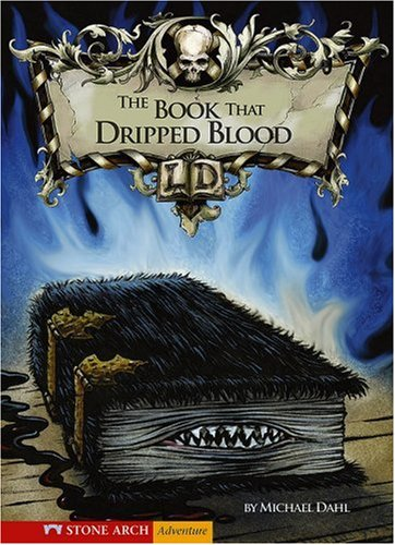 9781598893243: The Book That Dripped Blood (Library of Doom)