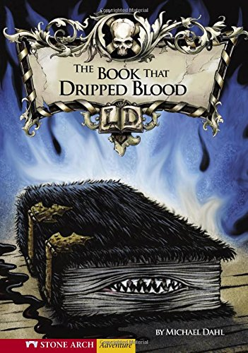 9781598894196: The Book That Dripped Blood (Library of Doom)