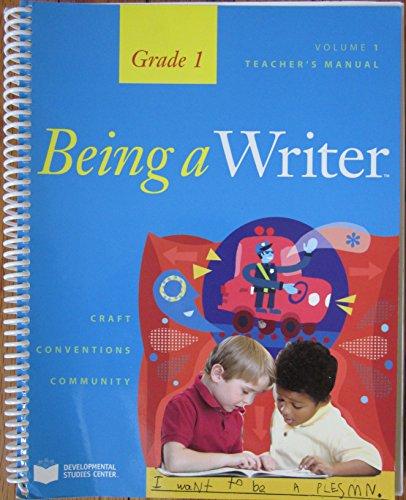 9781598922950: Being a Writer, Volume 1 Teacher's Manual
