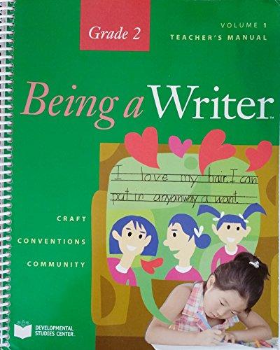 9781598923032: Teacher's Manual, Grade 2 Volume 1, Being a Writer