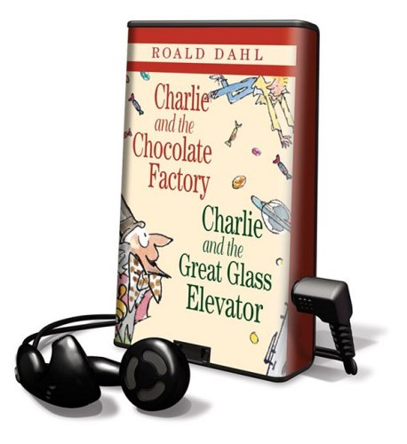 9781598951318: Charlie and the Chocolate Factory/ Charlie and the Glass Elevator: Library Edition