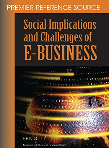 9781599041056: Social Implications and Challenges of E-Business