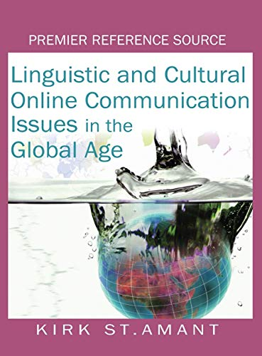 9781599042138: Linguistic and Cultural Online Communication Issues in the Global Age