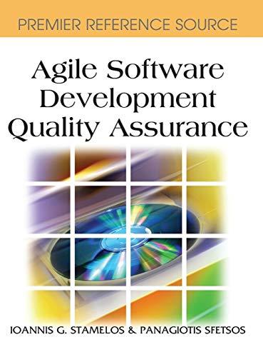 9781599042169: Agile Software Development Quality Assurance