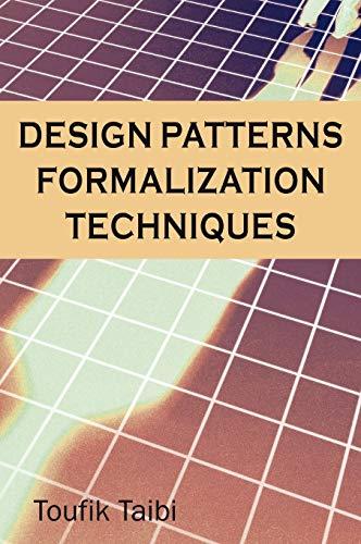9781599042190: Design Pattern Formalization Techniques