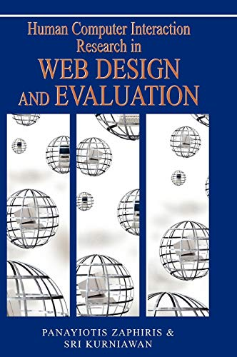 9781599042466: Human Computer Interaction Research in Web Design and Evaluation