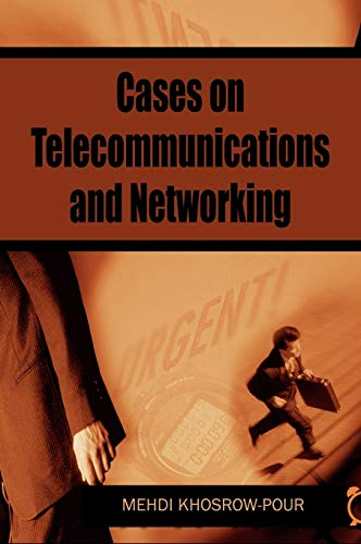 9781599044170: Cases on Telecommunications And Networking