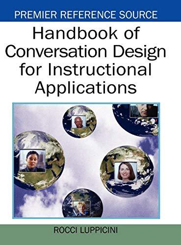 9781599045979: Handbook of Conversation Design for Instructional Applications