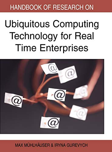 9781599048321: Handbook of Research on Ubiquitous Computing Technology for Real Time Enterprises