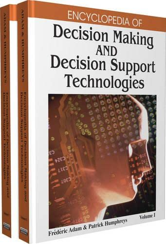 9781599048437: Encyclopedia of Decision Making and Decision Support Technologies