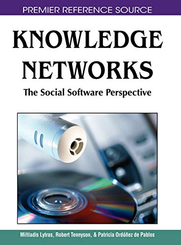 9781599049762: Knowledge Networks: The Social Software Perspective