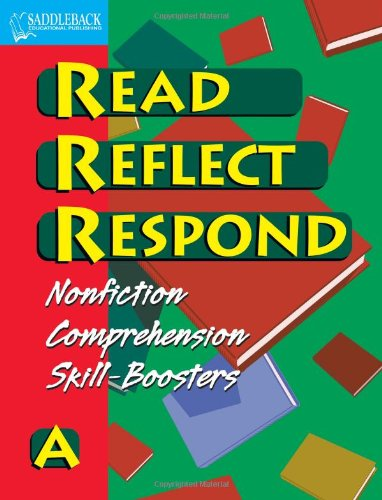 9781599050003: Book A- Read, Reflect, Respond