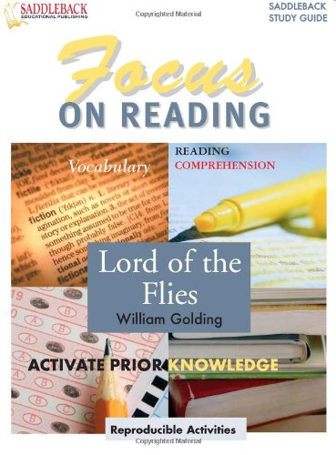 9781599051130: Lord of the Flies (Saddleback's Focus on Reading Study Guides)