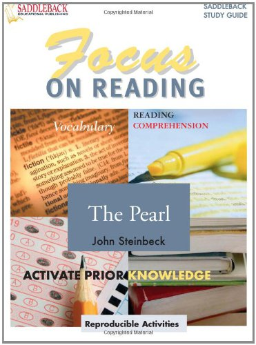 9781599051208: Focus On Reading: The Pearl (Saddleback's Focus on Reading Study Guides)