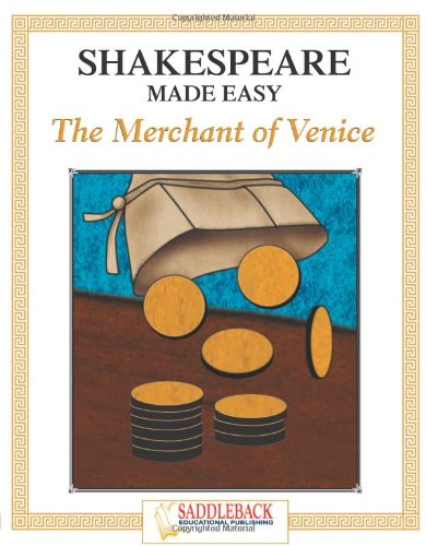 Shakespeare Made Easy, The Merchant of Venice (Shakespeare Made Easy Study Guides): Saddleback ...