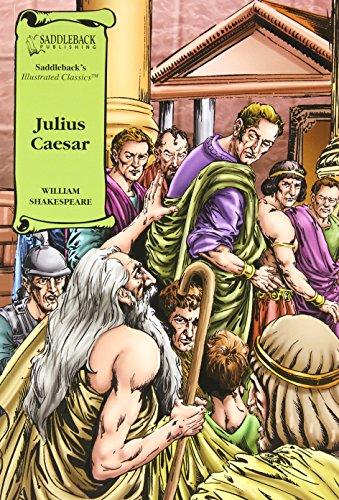 9781599051451: Julius Caesar Graphic Novel (Saddleback's Illustrated Classics)