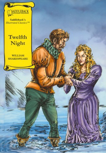 9781599051598: Twelfth Night (Saddleback's Illustrated Classics)