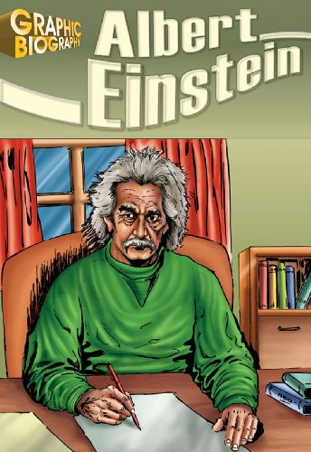 9781599052120: Albert Einstein, Graphic Biography (Saddleback Graphic: Biographies)