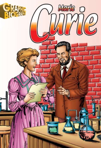 9781599052267: Marie Curie Graphic Biography (Saddleback Graphic: Biographies)