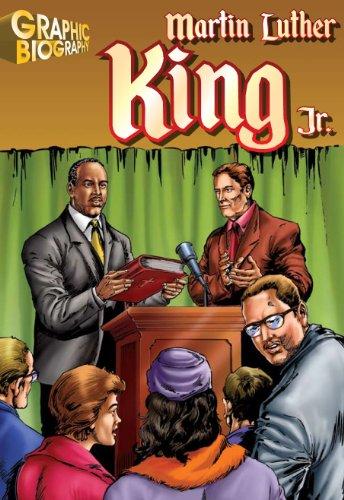 9781599052274: Martin Luther King, Graphic Biography (Saddleback Graphic: Biographies)