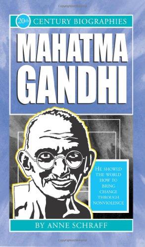 Mahatma Gandhi-Biographies of the 20th Century (20th: Schraff, Anne E.