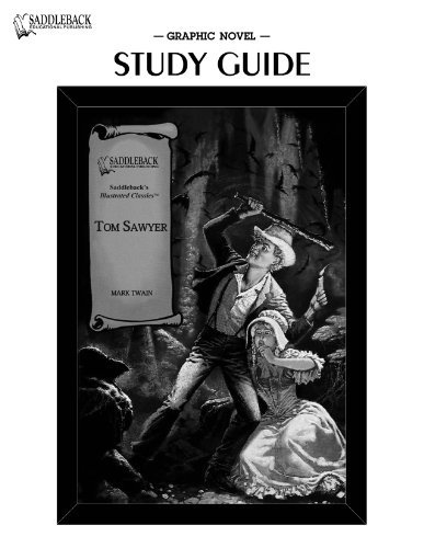 9781599053158: Tom Sawyer-Illustrated Classics-Guide (Saddleback's Illustrated Classics)
