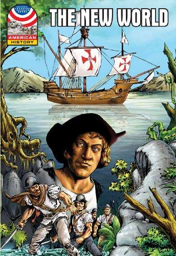9781599053561: The New World: 1500-1750- Graphic U.S History (Saddleback Graphic: American History)