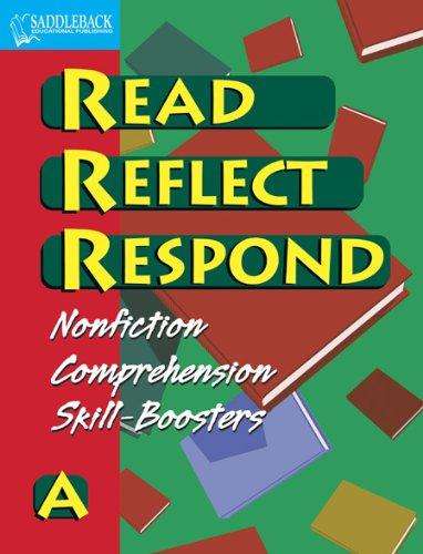 9781599054834: Read Reflect Respond A (Student Workbook) (Enhanced eBook)