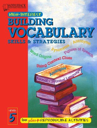 9781599057989: Building Vocabulary Skills and Strategies Level 5 (Enhanced eBook) (High-interest Building Vocabulary Skills & Strategies)