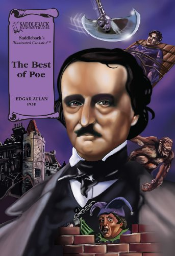 9781599058900: The Best of Poe (Illus. Classics) HARDCOVER (Saddleback's Illustrated Classics)
